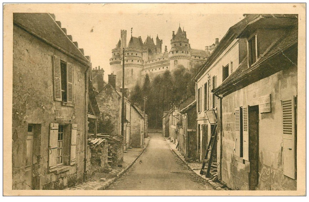 carte postale ancienne Superbe Lot de 19 Cpa 60 PIERREFONDS. Le Château à partir de 1902. Etat impeccable
