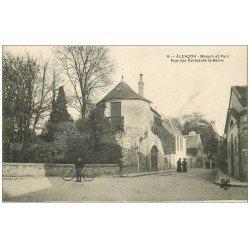 carte postale ancienne 61 ALENCON. Parc rue des Portes-de-la-Barre