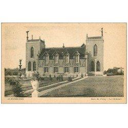 carte postale ancienne 61 ALMENECHES. Bois de Pelay, le Château 1950