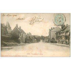 carte postale ancienne 61 AUBE. Le Bourg 1905