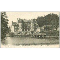 carte postale ancienne 61 BAGNOLES-DE-L'ORNE environs. Château de Couterne 68