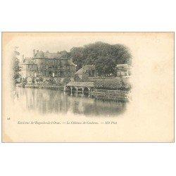 carte postale ancienne 61 BAGNOLES-DE-L'ORNE environs. Château de Couterne vers 1900