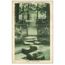 carte postale ancienne 61 BELLEME. Le Herse et Sources Thermales en Forêt 1933