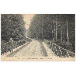 carte postale ancienne 61 BELLEME. Le Pont à la Dame