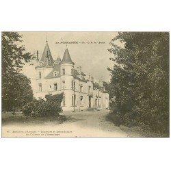 carte postale ancienne 61 CHATEAU DE L'HERMITAGE. Tourelles et Dépendances (Alençon)