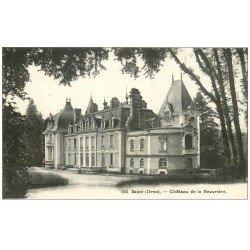 carte postale ancienne 61 DANCE. Château de la Beuvrière