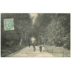 carte postale ancienne 61 FLERS superbe Lot 10 Cpa. Rue Schnetz, Etang Château, Monument Morts, Hôtel de Ville, Gévelot, Parc...