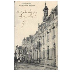 carte postale ancienne 61 FLERS. Hôtel des Postes et Télégraphes 1911