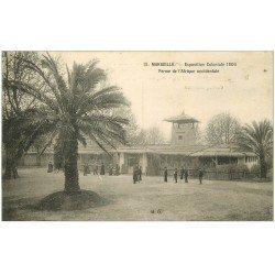 carte postale ancienne 13 MARSEILLE. Ferme Afrique Occidentale. Exposition Coloniale