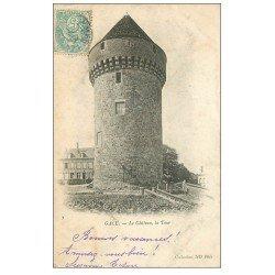 carte postale ancienne 61 GACE. La Tour du Château 1905
