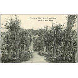 carte postale ancienne 02 COUCY-LE-CHATEAU. L'Entrée du Château