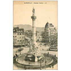 carte postale ancienne 13 MARSEILLE. Fontaine Cantini