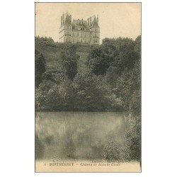 carte postale ancienne 61 MONTMERREY. Château Blanche Lande 1924