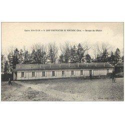 carte postale ancienne 61 MORTAGNE. Baraque des Officiers Camp Instruction Militaire