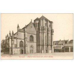 carte postale ancienne 61 MORTAGNE. Eglise Notre-Dame