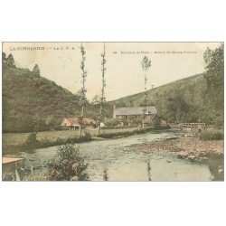 carte postale ancienne 61 MOULIN DE CHAMP-FERMANT 1906