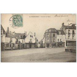 carte postale ancienne 61 SEES. Place de la Mairie 1907