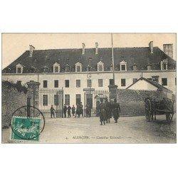 carte postale ancienne Superbe Lot 10 Cpa 61 ALENCON. Caserne Ernouf, Rue Basse et de la Barre, Avenue Gare, Lycée etc...