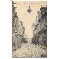 carte postale ancienne Superbe Lot 10 Cpa 61 ARGENTAN. Cadran suspendu, Château, Caserne, Chemin Saint-Roch, Eglise...