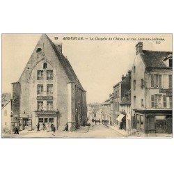 Superbe Lot 10 Cpa 61 ARGENTAN. Rue Lautour-Labroise, Réfectoire Abbaye, Dentelles, Sous-Préfecture, Champ Manoeuvre...