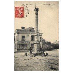 carte postale ancienne Superbe Lot 10 Cpa 61 ARGENTAN. Rue Saint-Germain, Eglise Saint-Germain, Pont, Colonne des Trois-Croix...