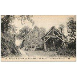 Rare Lot de 10 Cpa 61 BAGNOLES-DE-L'ORNE. Buards Vieux Pressoir, Chapelle Saint-Orthaire, Manoir Lys des Vallées, Villa