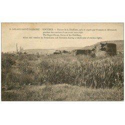 carte postale ancienne 62 ABLAIN-SAINT-NAZAIRE. SOUCHEZ. Distillerie ruines