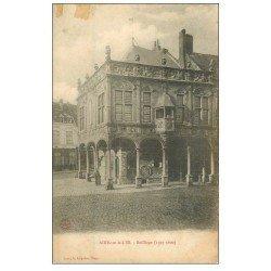 carte postale ancienne 62 AIRES-SUR-LA-LYS. Bailliage 1906