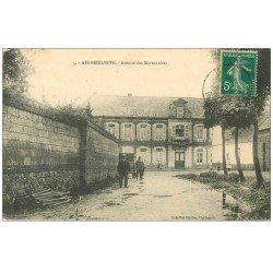 carte postale ancienne 62 AIX-NOULETTE. Avenue des Marronniers