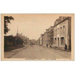 carte postale ancienne 62 AIX-NOULETTE. Route Nationale