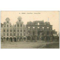 carte postale ancienne 62 ARRAS. Château d'Eau Grand'Place