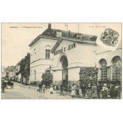 carte postale ancienne 62 ARRAS. Hôpital Saint-Jean 1917
