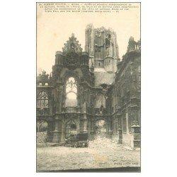 carte postale ancienne 62 ARRAS. Hôtel de Ville et Beffroi