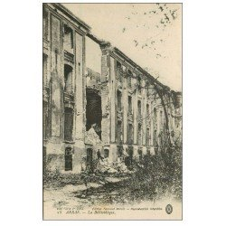 carte postale ancienne 62 ARRAS. La Bibliothèque