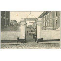 carte postale ancienne 62 ARRAS. Le Quartier Schramm 1911 Militaires et Sentinelles