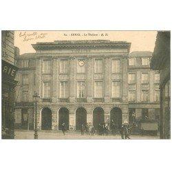 carte postale ancienne 62 ARRAS. Le Théâtre