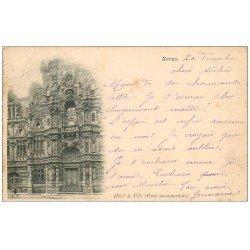 carte postale ancienne 62 ARRAS. L'Hôtel de Ville 1900