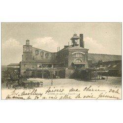 carte postale ancienne 62 AUCHEL. Fosse n°3 de la Mine 1903