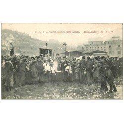 carte postale ancienne 62 BOULOGNE-SUR-MER. Bénédiction de la Mer 1906
