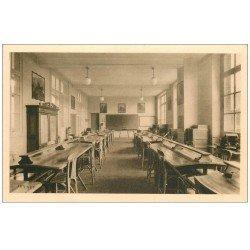 carte postale ancienne 62 BOULOGNE-SUR-MER. Ecole Pratique Commerce. Bureau Commercial. Industrie et Mécaniciens de Marine