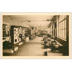 62 BOULOGNE-SUR-MER. Ecole Pratique Commerce. Salle essais mesures électriques. Industrie et Mécaniciens de Marine