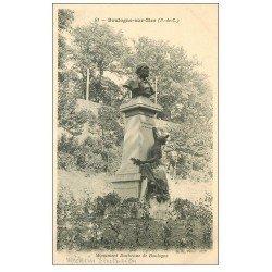 carte postale ancienne 62 BOULOGNE-SUR-MER. Monument Duchenne de Boulogne. Médecin électricien