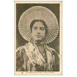 carte postale ancienne 62 BOULOGNE-SUR-MER. Types de Matelote 1935. Métiers de la Mer