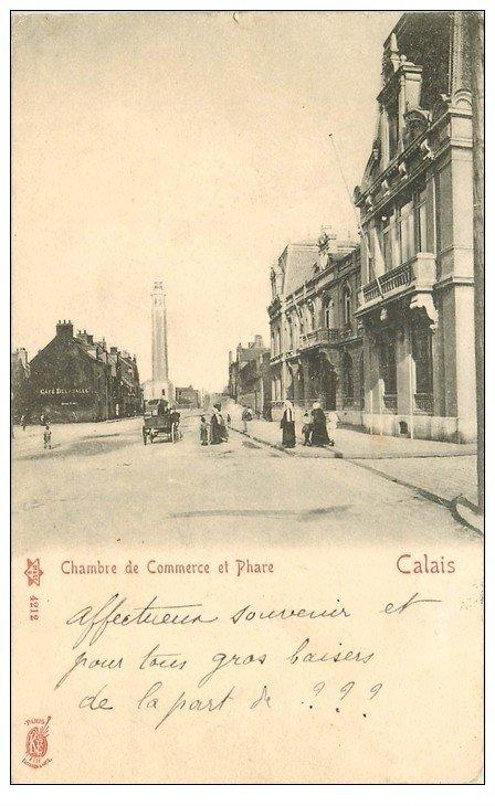 62 calais chambre de commerce et phare 1904 - Chambre de commerce de pontoise ...