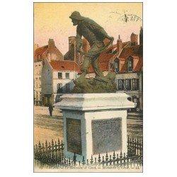 62 CALAIS. Lot 10 Cpa Monument Cavet, Porte Richelieu, Jardin, Postes, Boulevards Pasteur et Jacquard, Rodin, Pluviose..