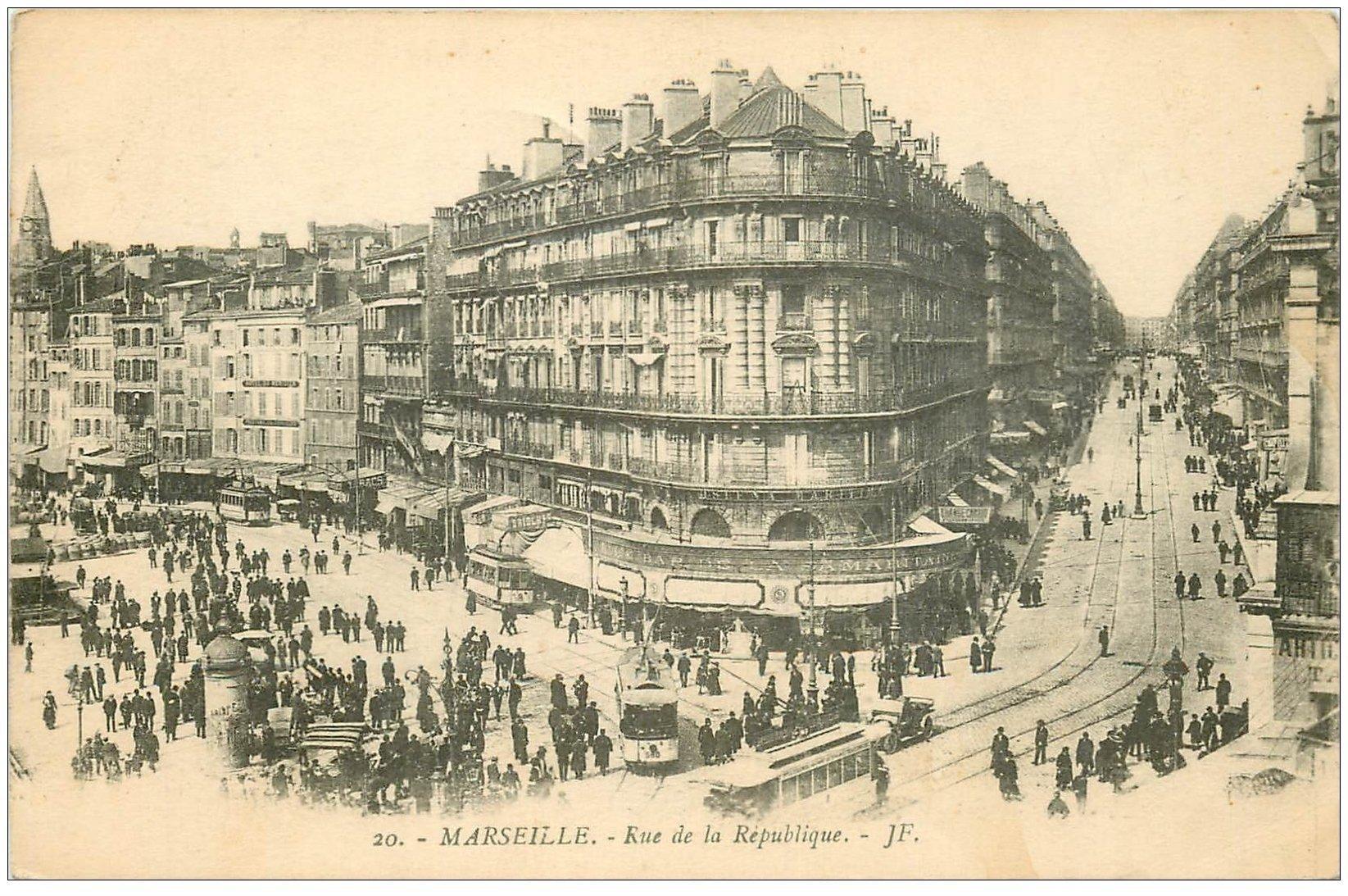 13 MARSEILLE. Rue de la République 1919