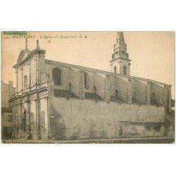 carte postale ancienne 13 MARTIGUES. Eglise de Jonquières