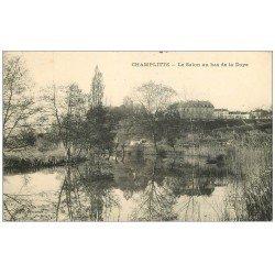 carte postale ancienne 70 CHAMPLITTE. Le Salon au bas de la Doye