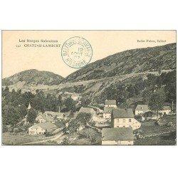 carte postale ancienne 70 CHATEAU-LAMBERT. Village 1907. Bailot Frères