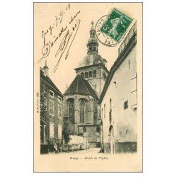carte postale ancienne 70 GRAY. Abside de l'Eglise 1908